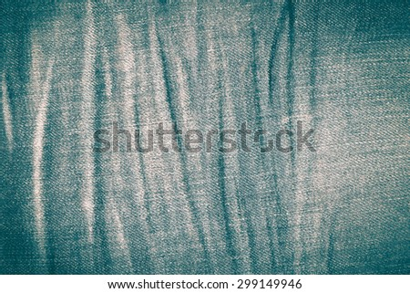 jean texture retro vintage style - stock photo