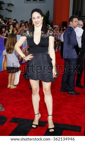 """Jeanine Mason at the Los Angeles premiere of """"Step Up Revolution"""" held at the Grauman's Chinese Theatre in Los Angeles, California, United States on July 17, 2012.   - stock photo"""