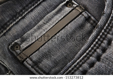 Jeans background with - stock photo