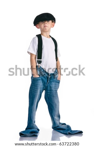 Jeans to allow for growth - stock photo