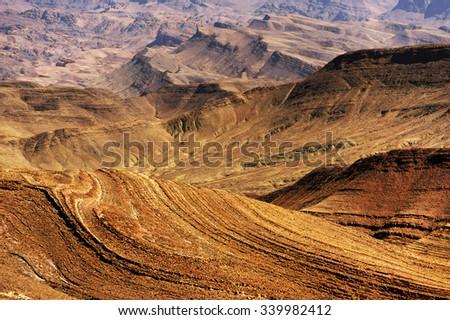 Jebel Sarhro, Morocco, Africa - stock photo