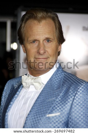 Jeff Daniels at the Los Angeles premiere of 'Dumb And Dumber To' held at the Regency Village Theatre in Los Angeles on November 3, 2014 in Los Angeles, California.  - stock photo