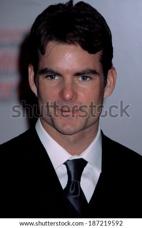 Jeff Gordon at NASCAR Winston Cup Ceremony, NY 12/6/2002 - stock photo