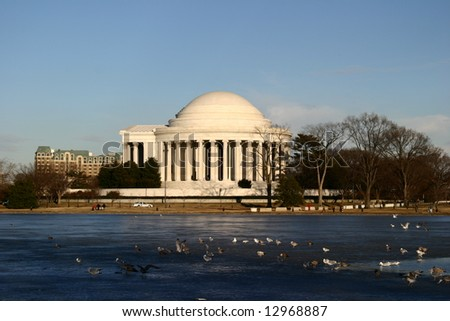 Jefferson Memorial - stock photo
