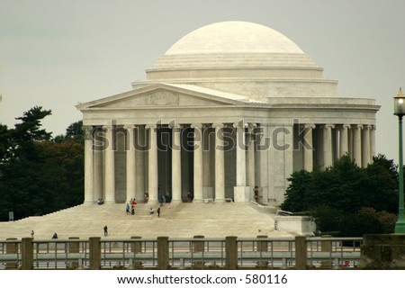 Jefferson Monument - stock photo