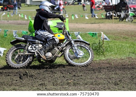 vintage motocross texas knock about