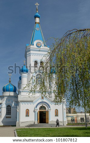 Jelgava St. Simeon and St. Ann orthodox cathedral in Latvia