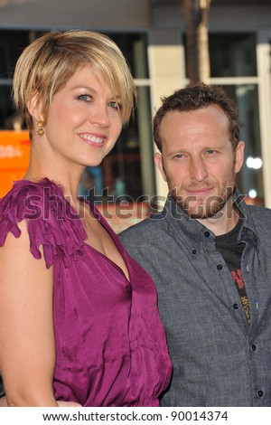 "Jenna Elfman & husband Bodhi Elfman at the world premiere of ""Larry Crowne"" at Grauman's Chinese Theatre, Hollywood. June 27, 2011  Los Angeles, CA Picture: Paul Smith / Featureflash"