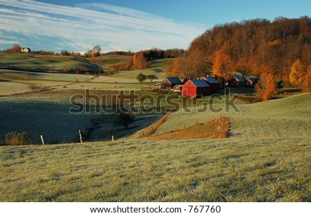 Jenne Farm, Vermont - stock photo