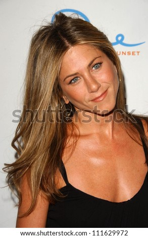 Jennifer Aniston at a party celebrating the books written by Laura Day. One Sunset, West Hollywood, CA. 06-19-07 - stock photo