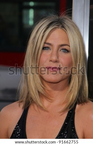 "Jennifer Aniston at the ""Horrible Bosses"" Los Angeles Premiere, Chinese Theater, Hollywood, CA. 06-30-11 - stock photo"