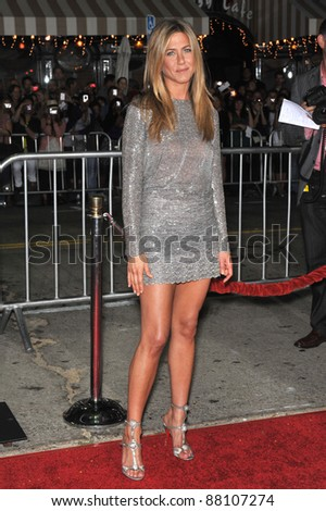 "Jennifer Aniston at the world premiere of her new movie ""Love Happens"" at the mann Village Theatre, Westwood. September 15, 2009  Los Angeles, CA Picture: Paul Smith / Featureflash - stock photo"