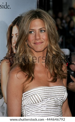 Jennifer Aniston at the World premiere of 'The Break-Up' held at the Mann Village Theatre in Westwood,  USA on May 22, 2006. - stock photo