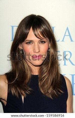 "Jennifer Garner at the ""Dallas Buyers Club"" Los Angeles Premiere, Academy of Motion Picture Arts and Sciences, Beverly Hills, CA 10-17-13 - stock photo"