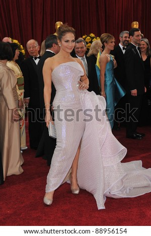Jennifer Lopez at the 82nd Annual Academy Awards at the Kodak Theatre, Hollywood. March 7, 2010  Los Angeles, CA Picture: Paul Smith / Featureflash - stock photo
