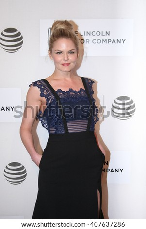 Jennifer Morrison attends the US Premiere of The Family Fang held at John Zuccotti Theatre at the BMCC Tribeca Performing Arts Center during the 2016 Tribeca Film Festival on April16th, 2016 in NYC. - stock photo