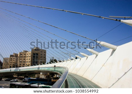 Jerusalem Israel March 42018 View Chords Stock Photo Royalty Free