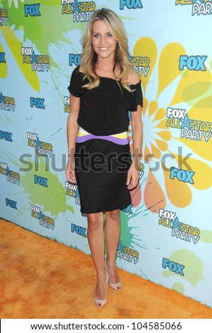 Jessalyn Gilsig at FOX's 2009 All Star Party. Lanham Huntington Hotel, Pasadena, CA. 08-06-09