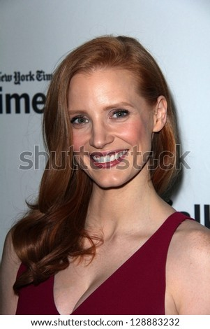 Jessica Chastain at a Conversation With Jessica Chastain, Paley Center for Media, Beverly Hills, CA 02-15-13