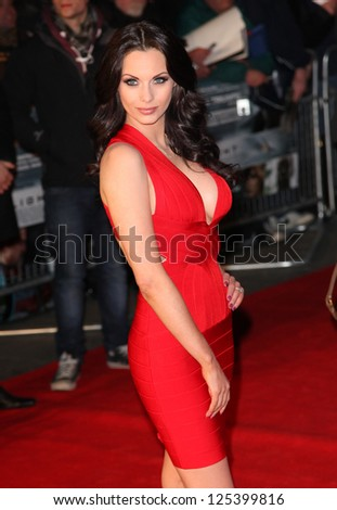 Jessica Jane Clement arriving for the UK premiere of 'Flight' at Empire Leicester Square, London. 17/01/2013 Picture by: Alexandra Glen