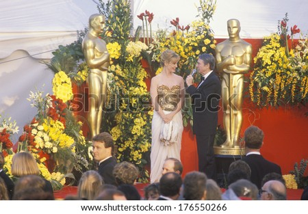 Jessica Lange at 62nd Annual Academy Awards, Los Angeles, California - stock photo