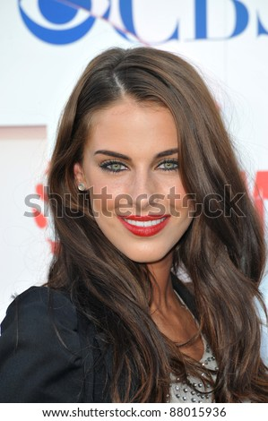 "Jessica Lowndes - star of ""90210"" - at CBS TV Summer Press Tour Party in Beverly Hills.  July 28, 2010  Los Angeles, CA Picture: Paul Smith / Featureflash"