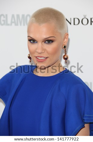 Jessie J arriving for the 2013 Glamour Women of The Year Awards, Berkeley Square, London. 04/06/2013 - stock photo