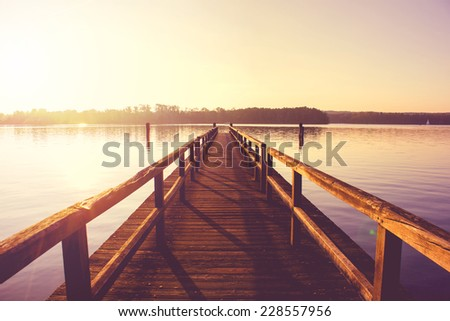 Jetty - stock photo