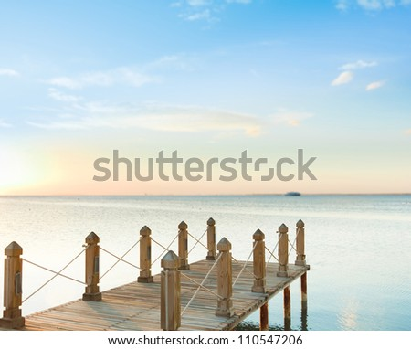 Jetty into Heaven