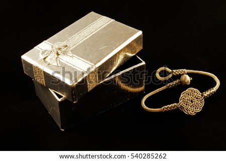 Jewellery and the gift box
