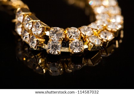 Jewelry set - stock photo