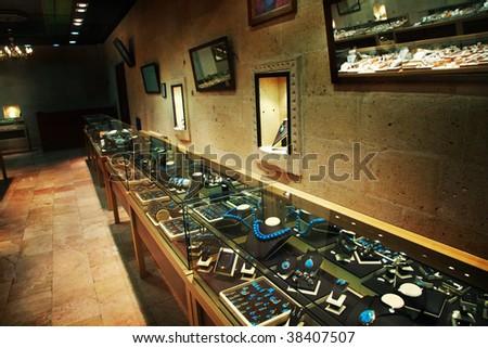 Jewelry store - stock photo
