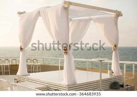 Jewish wedding chuppah in Israel & Jewish Wedding Chuppah Israel Stock Photo 364683935 - Shutterstock