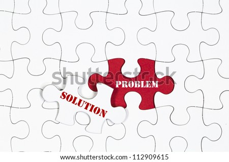 Jigsaw Puzzle Missing Piece Solution Concept Stock Photo Royalty Free 112909615
