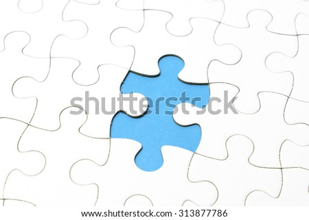 Jigsaw puzzles last one for complete your mission