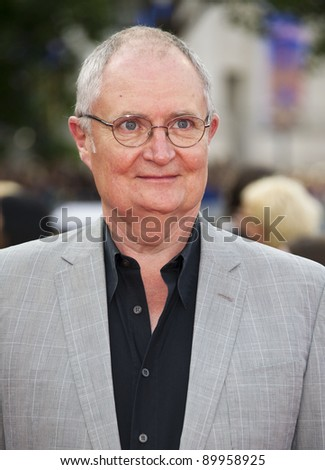 Jim Broadbent arriving for the World Premiere of 'Harry Potter & the Deathly Hallows pt2', Trafalgar Square, London. 07/07/2011  Picture by: James McCauley / Featureflash - stock photo