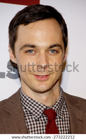 Jim Parsons at the 8th Annual GLSEN Respect Awards held at the Beverly Hills Hotel in Beverly Hills on October 5, 2012. - stock photo