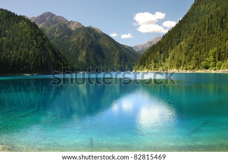 Jiuzhaigou Valley Scenic and Historic Interest Area, China - stock photo
