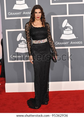 Jo Champa at the 54th Annual Grammy Awards at the Staples Centre, Los Angeles. February 12, 2012  Los Angeles, CA Picture: Paul Smith / Featureflash