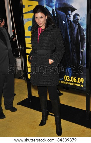"Jo Champa at the US premiere of ""Watchmen"" at Grauman's Chinese Theatre, Hollywood. March 2, 2009  Los Angeles, CA Picture: Paul Smith / Featureflash"