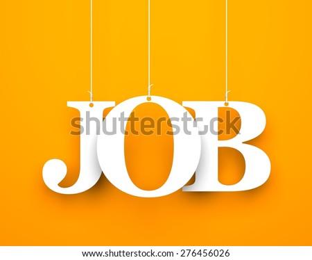 Job - stock photo
