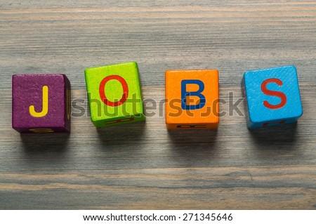 Job, business, interview. - stock photo