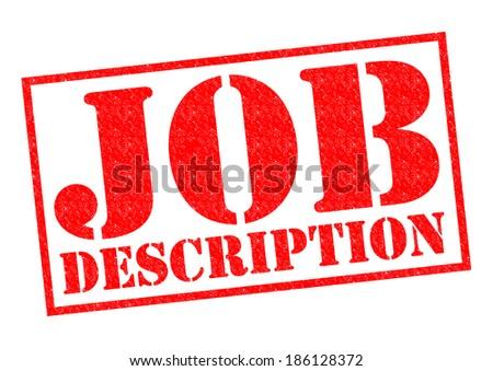 Job Description Images RoyaltyFree Images Vectors – Job Description