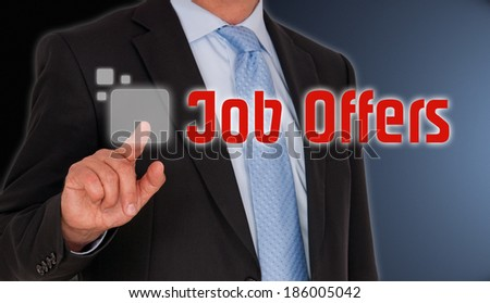 Job Offers - stock photo