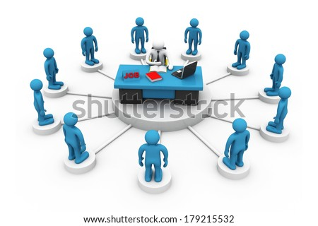 job search concept  - stock photo