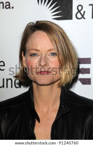 "Jodie Foster at ""Reel Stories - Real Lives,"" Milk Studios, Hollywood, CA 11-05-11"
