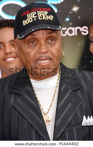 JOE JACKSON (father of Michael Jackson) at the 2006 BET Awards in Los Angeles.. June 27, 2006  Los Angeles, CA  2006 Paul Smith / Featureflash - stock photo