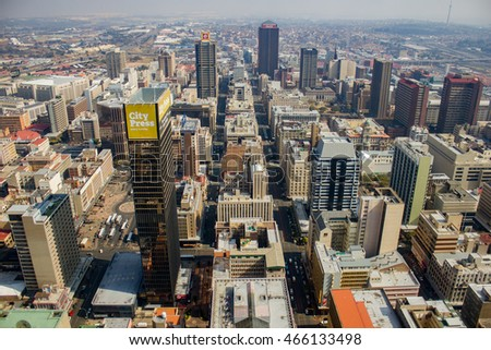 Johannesburg south africa may 18 2013 stock photo 466133498 johannesburg south africa may 18 2013 the johannesburg skyline as seen from thecheapjerseys Choice Image