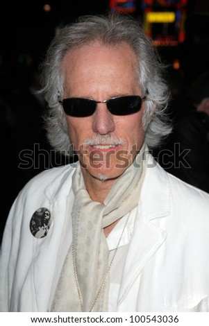 "John Densmore at the ""Re-Generation Music Project"" World Premiere, Chinese Theater, Hollywood, CA 02-09-12 - stock photo"