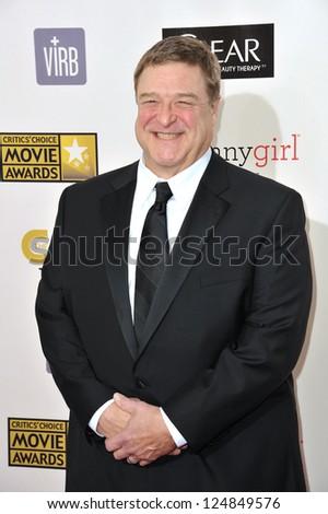 John Goodman at the 18th Annual Critics' Choice Movie Awards at Barker Hanger, Santa Monica Airport. January 10, 2013  Santa Monica, CA Picture: Paul Smith - stock photo